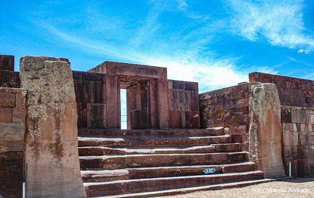 Templo de Kalasasaya - Tiwanaku - Bolívia