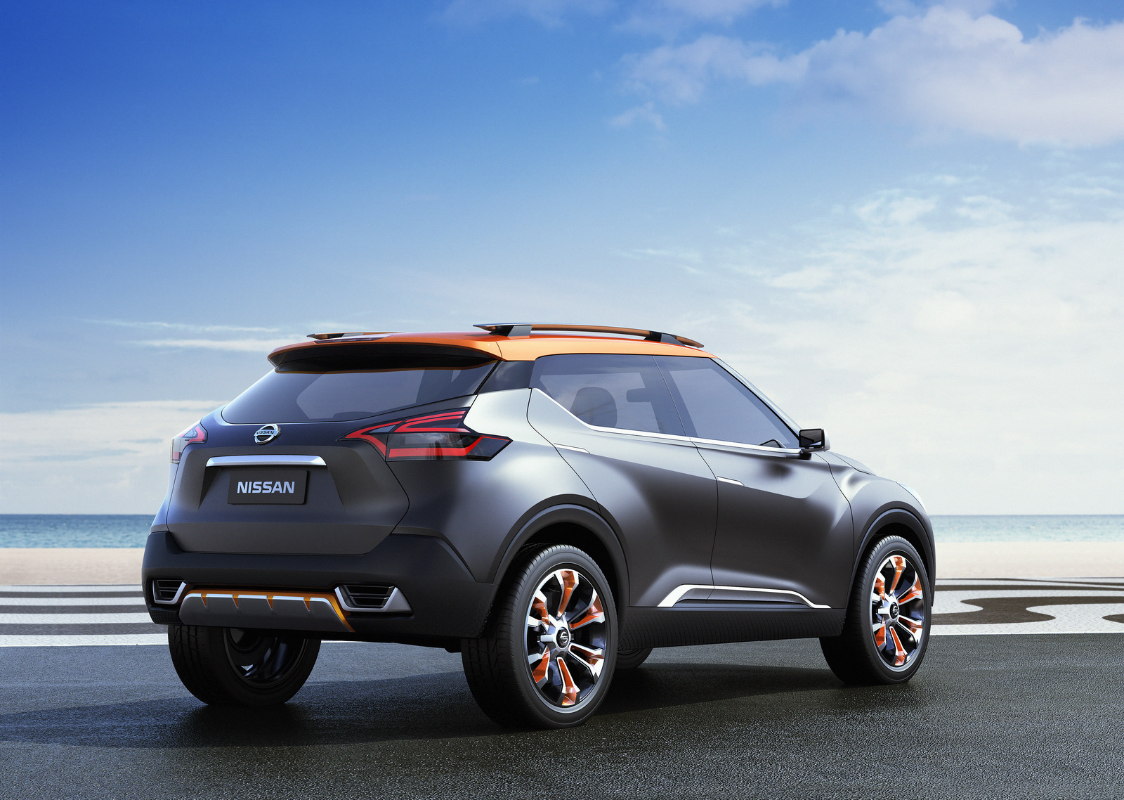 nissan kicks subcompact crossover finally uncovered. Black Bedroom Furniture Sets. Home Design Ideas