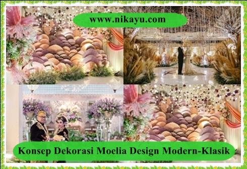 Konsep Dekorasi Moelia Design Modern-Klasik