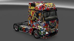 Marvel Universe Skin Pack for All Trucks