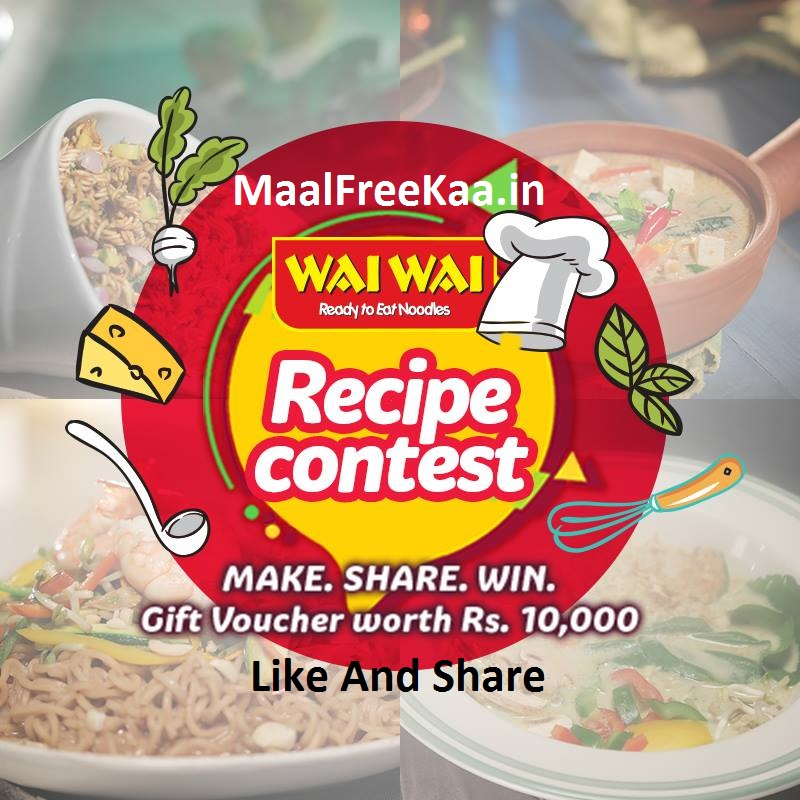 Wai wai recipe contest win gift voucher worth rs 1000 free samples online recipe contes forumfinder Gallery