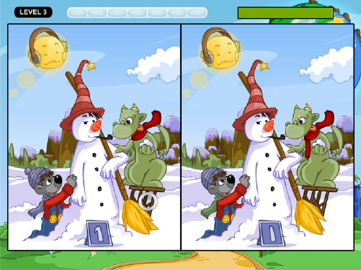 Find 10 Differences between Two Pictures - Edublox Online ...