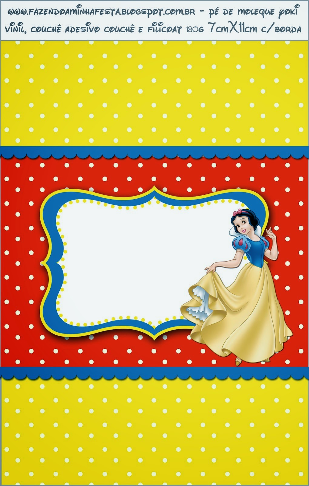 Enjoyable Snow White Free Printable Candy Bar Labels Oh My Fiesta Interior Design Ideas Clesiryabchikinfo