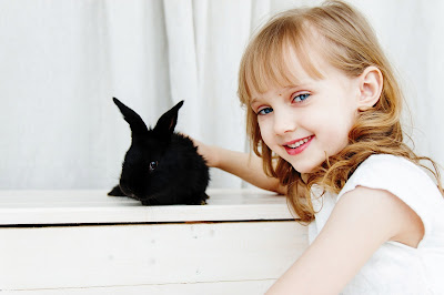 very cute baby with animals girls  new images 2020 rebbit images