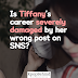 Is Girls' Generation Tiffany's career severely damaged by her wrong post on SNS?
