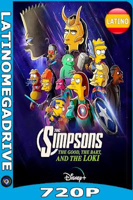 Los Simpson: La buena, el malo y Loki (2021) DSNP [WEB DL 720P] Latino [GoogleDrive] [Mega] DizonHD