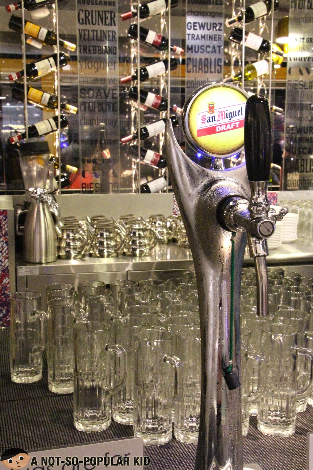 Draft Beer is available in Vikings - SM Megamall