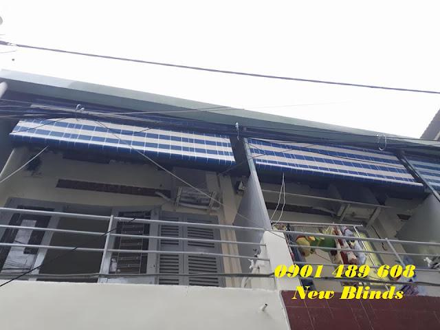 Mành nhựa New Blinds che nắng ban công quận 3