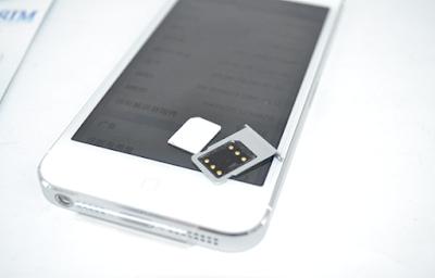 Sim ghep dien thoai iPhone 5s lock
