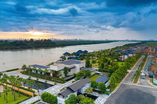 View sông của Đảo Đai Phước