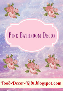 Pink Bathroom Decor