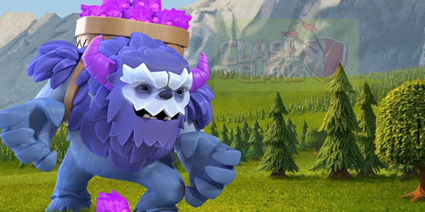 Clash of Clans Yeti