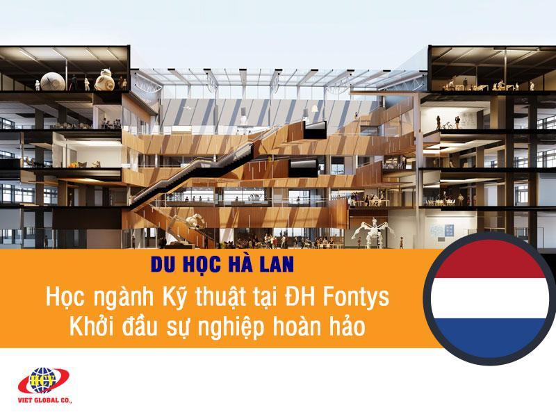 Du học Hà Lan: Học ngành Kỹ thuật tại đại học Fontys – khởi đầu sự nghiệp hoàn hảo