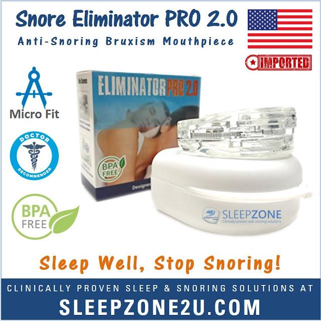 Snore Eliminator™ PRO 2.0 Adjustable Mouthpiece
