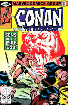 Conan the Barbarian #109, the Bear God