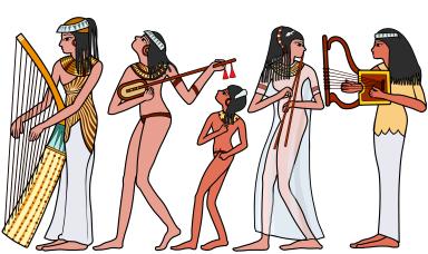 古代エジプトの楽器