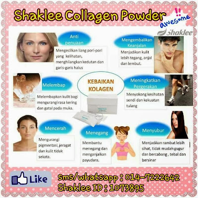 Kebaikan Shaklee Collagen Powder