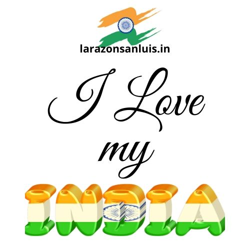 i love my india tiranga image