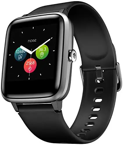 Noise ColorFit Pro 2 Smartwatch with 24x7 Dynamic Heart Rate Tracking, 10 Day Battery, Full Touch HD Display & Multi-Sports Mode (Jet Black)