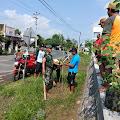 Peduli Lingkungan, Babinsa Mulyorejo Ajak Masyarakat Tanam Pohon