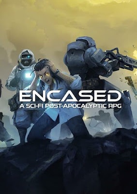 Capa do Encased: A Sci-Fi Post-Apocalyptic RPG