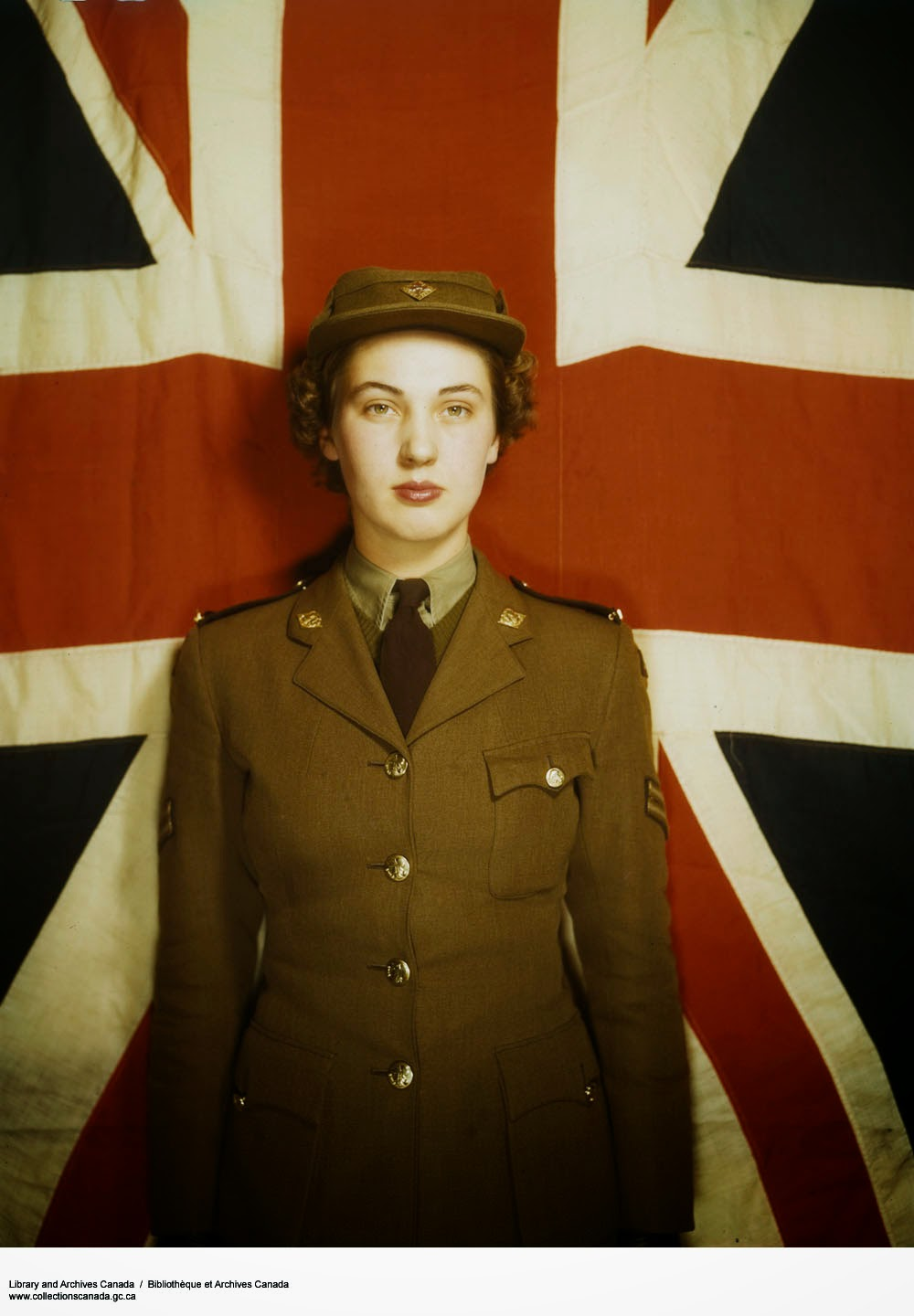 Beautiful Color Pictures Of Canadian Women S Army Corps
