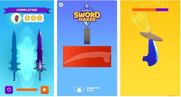 Sword Maker MOD APK 1.3 [Unlimited Money, Full Unlocked All]