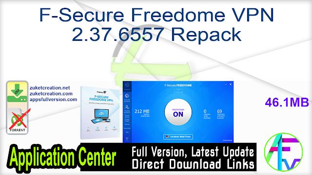 F-Secure Freedome VPN 2.37.6557 Repack