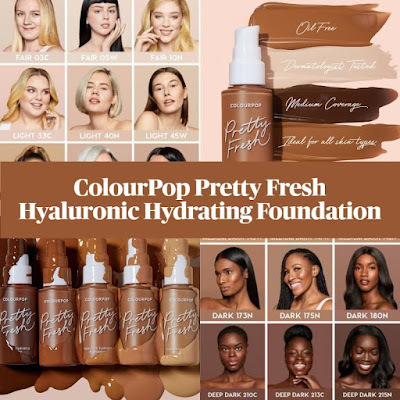 Colourpop Hyaluronic Hydrating Foundation