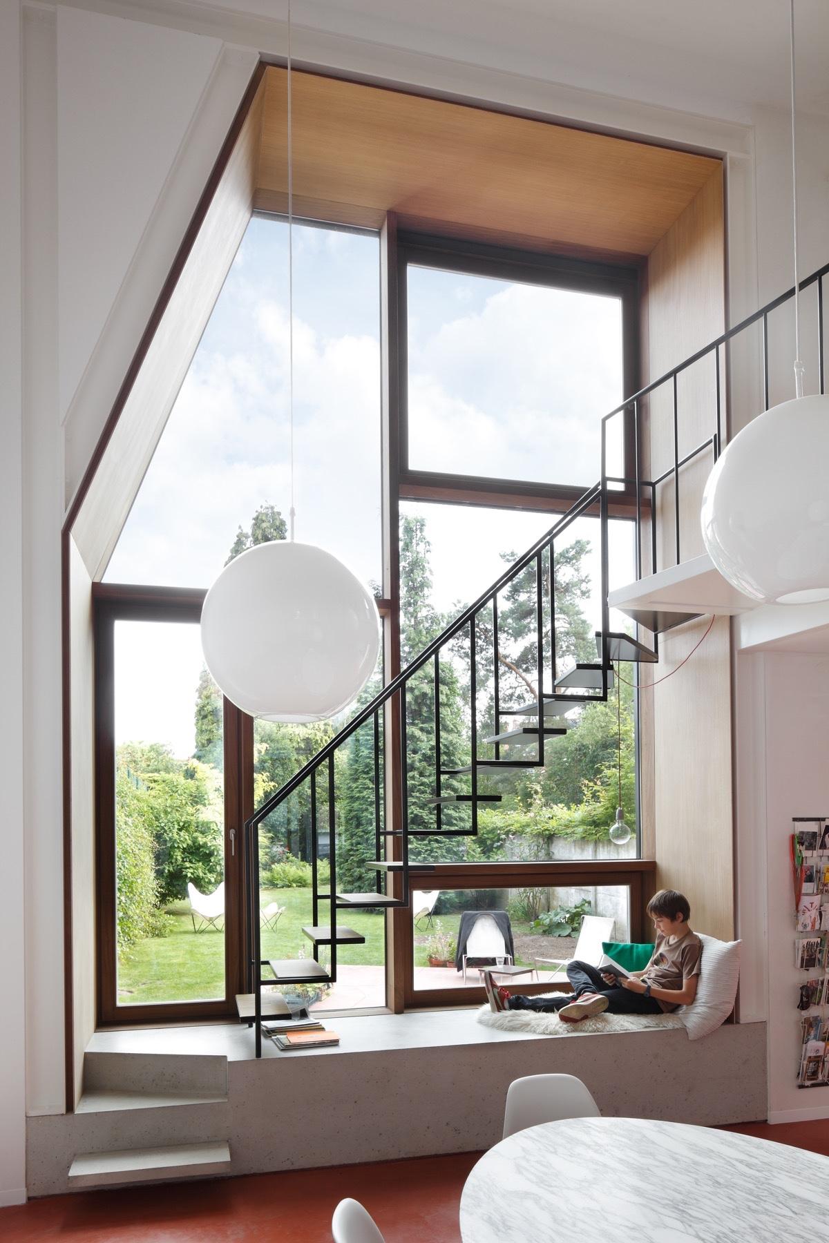 Un banco bajo la ventana ¡Ideas para vuestra casa!_19