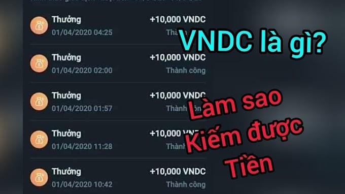 Cách kiếm tiền online đơn giản với ví VNDC - giao dịch (ngân hàng , MOMO..) 💰💲