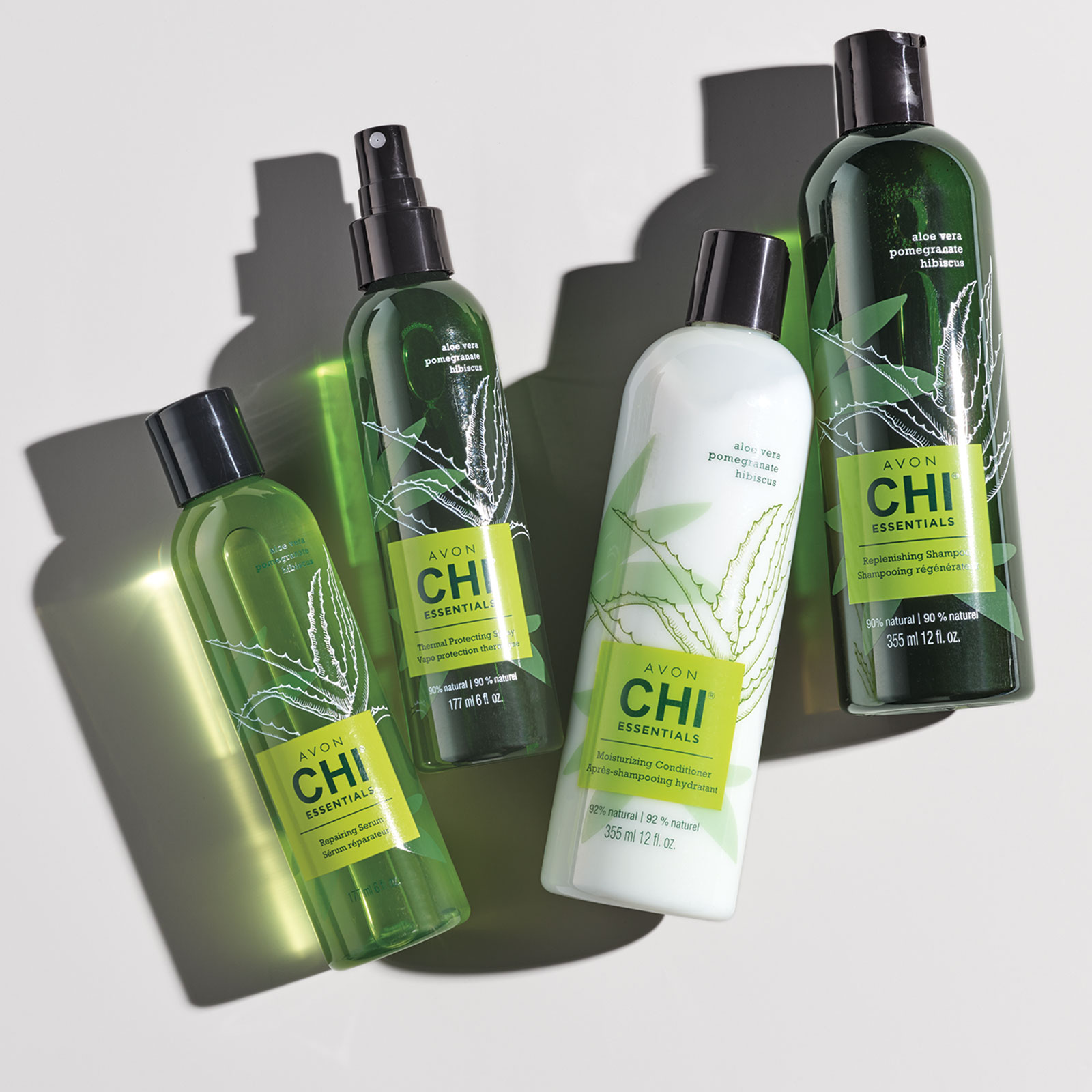 See the difference botanicals can make in your haircare. CHI Essentials is formulated with aloe vera, pomegranate, hibiscus and other nutrient-rich ingredients to lock in moisture, strengthen hair, increase elasticity and smooth split ends and frizz. Discover CHI.