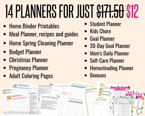 Cheap planners