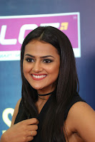 Actress Shraddha Srinath Stills in Black Short Dress at SIIMA Short Film Awards 2017 .COM 0088.JPG