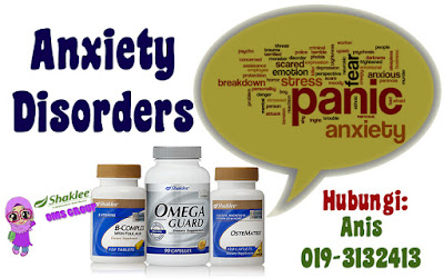 VITAMIN ANXIETY DISORDERS