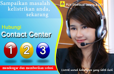 Call Center PLN 24 Jam Bebas Pulsa