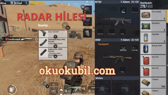Pubg Mobile 0.18.0 Radar Hilesi PC Emulator 2020