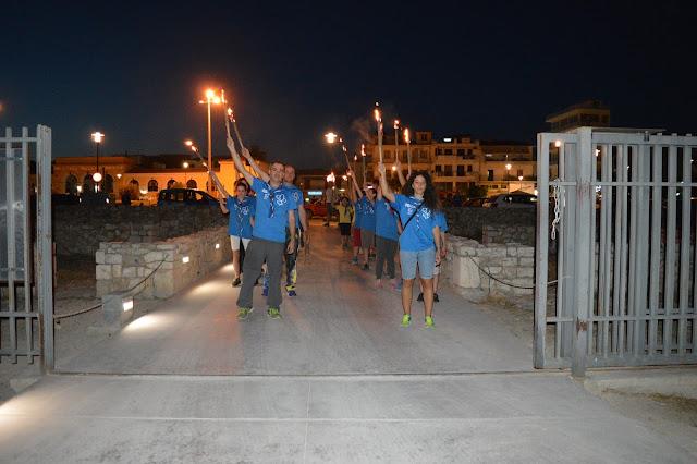 Λαμπαδηφορία από τους Προσκόπους στο Άργος για την Παγκόσμια Ημέρα του Εθελοντή Αιμοδότη