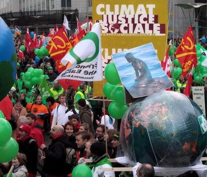 Já foi bandeira da pressão anárquica verde na rua. Hoje é artigo de tratado internacional a ser votado.