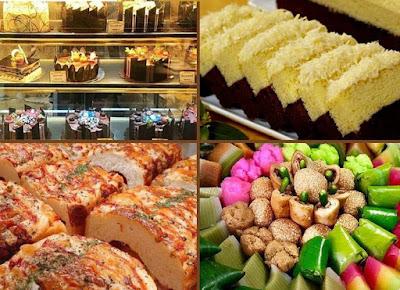toko roti di Bekasi Barat-Timur-Utara-Selatan