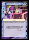 My Little Pony Star Swirl Research High Magic CCG Card