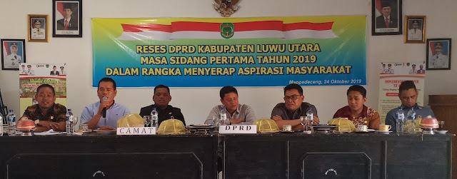 Reses DPRD Lutra, Karemuddin: Jangan Cuma Pembangunan Diusulkan, Pembanguan Ekonomi Juga Penting