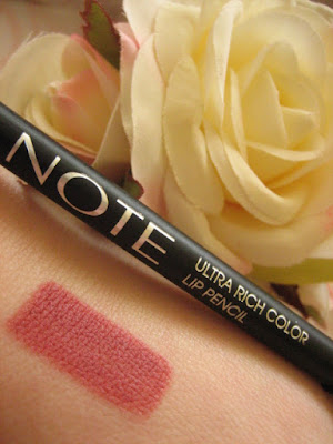 NOTE COSMETICS ULTRA RICH COLOR LIP PENCIL 03 NUDE