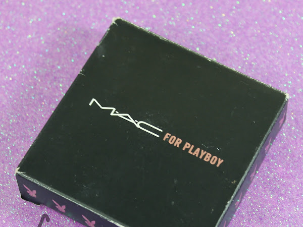 MAC Monday: MAC For Playboy - Playmate Pink Glitter Cream Swatches & Review