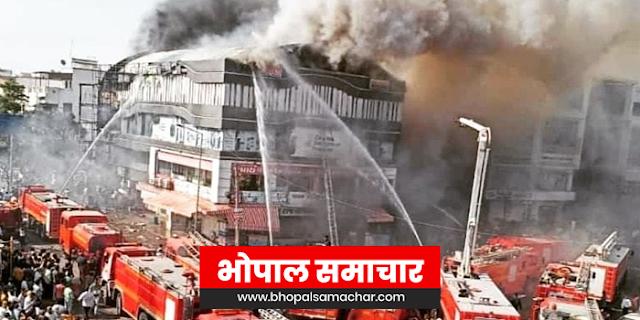 कोचिंग में आग से अब तक 15 छात्रों समेत 19 की मौत, जान बचाने चौथी मंजिल से कूदे छात्र | NATIONAL NEWS