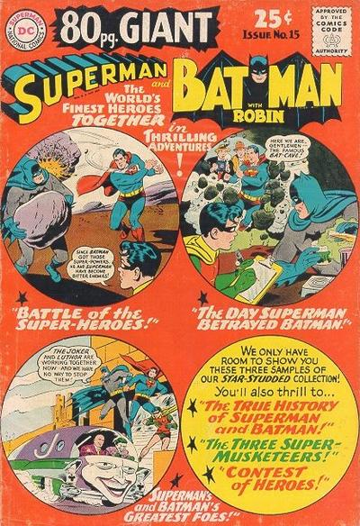 Episode #388 Part II: Superman Family Comic Book Cover Dated October 1965: 80 Page Giant #15!