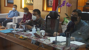 Denpasar Rangking I Tepra Tingkat Propinsi Bali, Sekda Rai Iswara Pimpin Rakor Tepra Via Teleconference