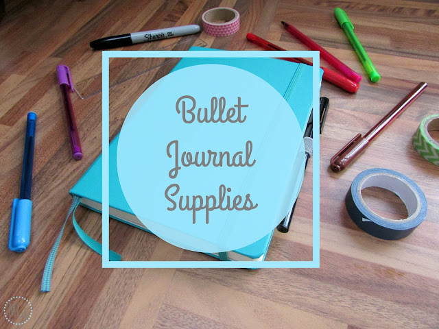 My General Life - Bullet Journal Supplies