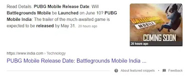 What India.com Said on Battlegrounds Mobile India Launch Date