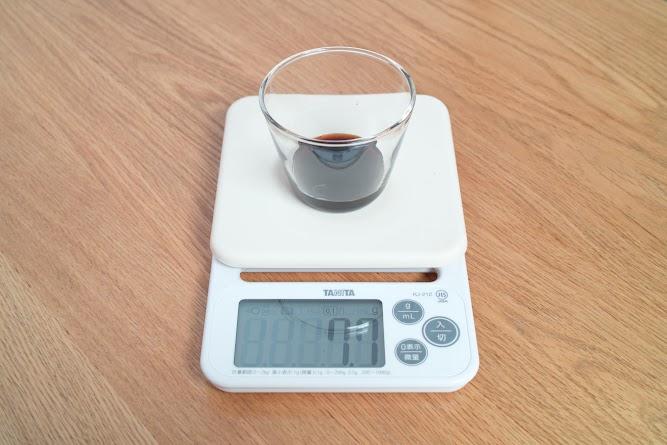 調味料の計量